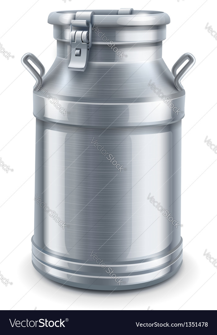 Can container for milk vector | Price: 3 Credit (USD $3)