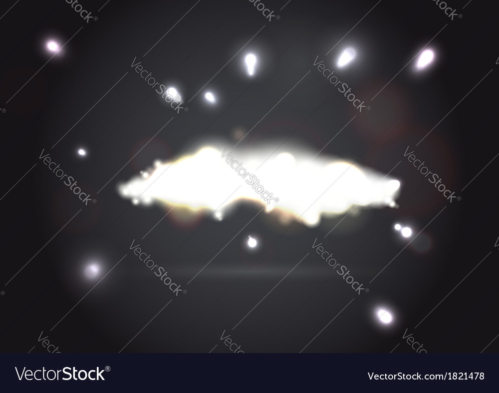 Flare on a dark background vector | Price: 1 Credit (USD $1)