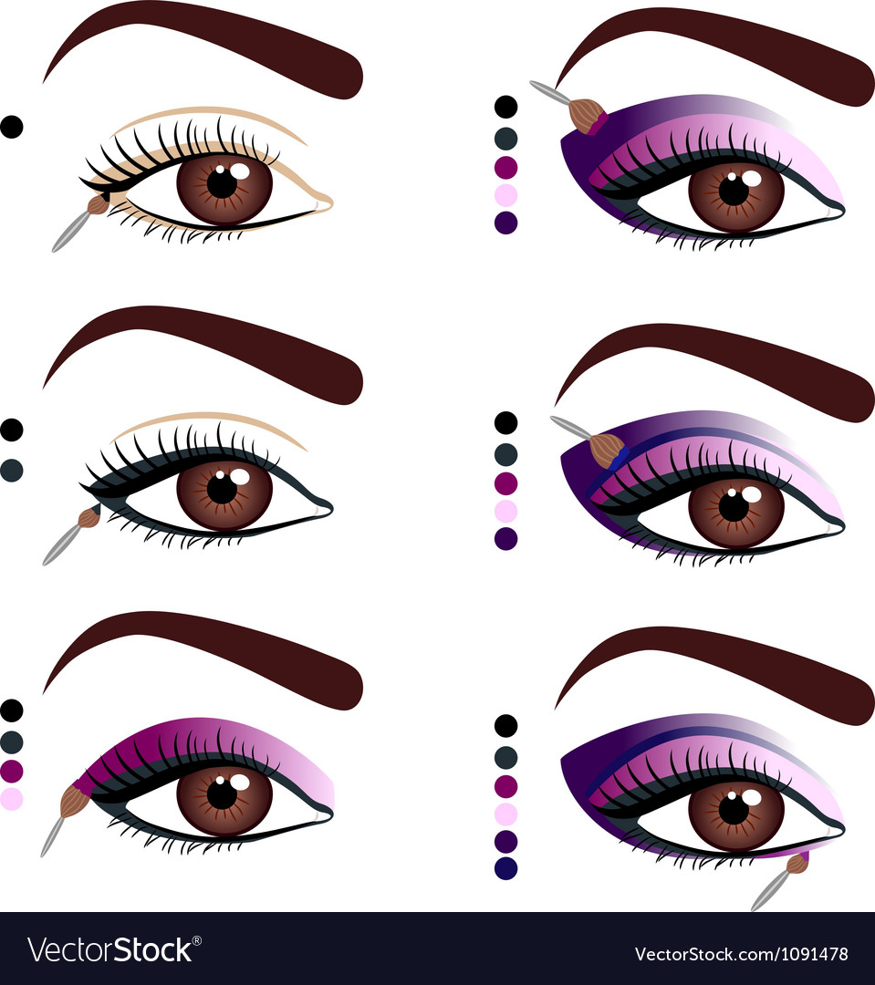 Makeup vector | Price: 3 Credit (USD $3)