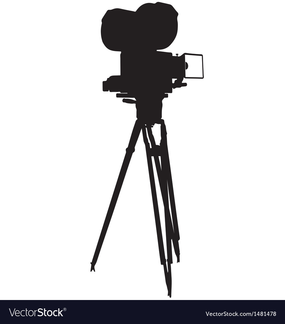 Motion film camera vector | Price: 1 Credit (USD $1)
