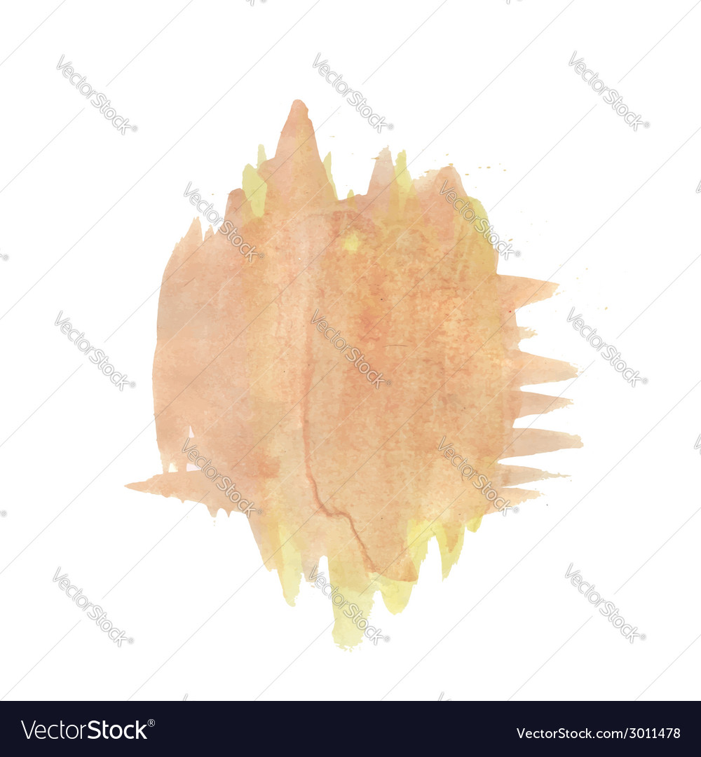 Watercolor blot vector | Price: 1 Credit (USD $1)