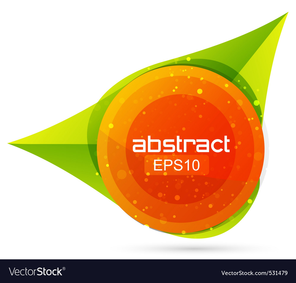 Abstract shape logo vector | Price: 1 Credit (USD $1)