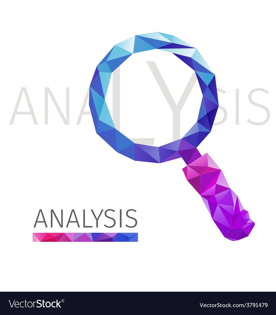 Analysis polygon vector | Price: 1 Credit (USD $1)