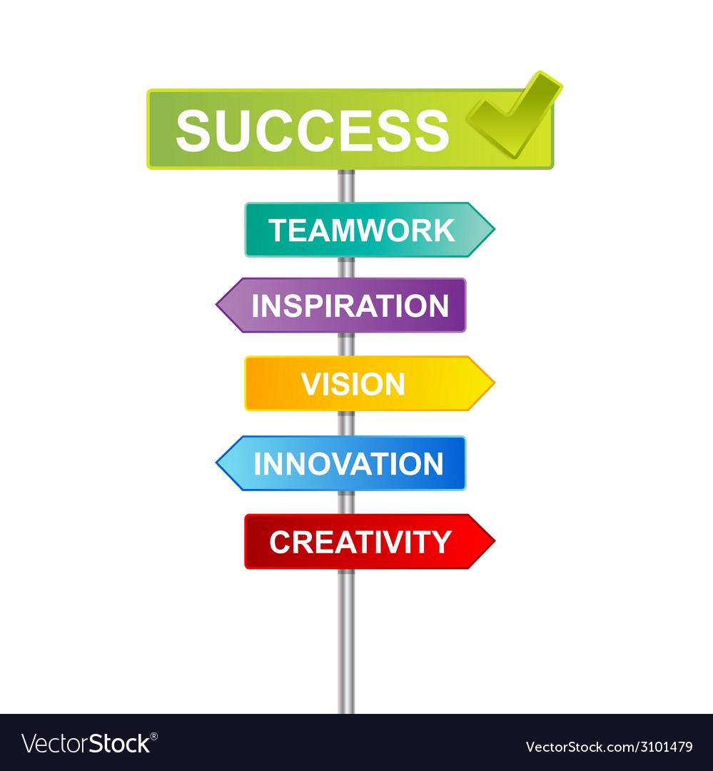 Indicator success business vector | Price: 1 Credit (USD $1)