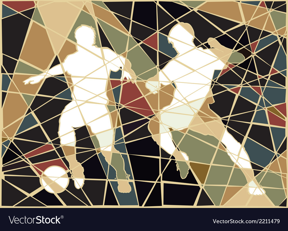 Soccer stars mosaic vector | Price: 1 Credit (USD $1)