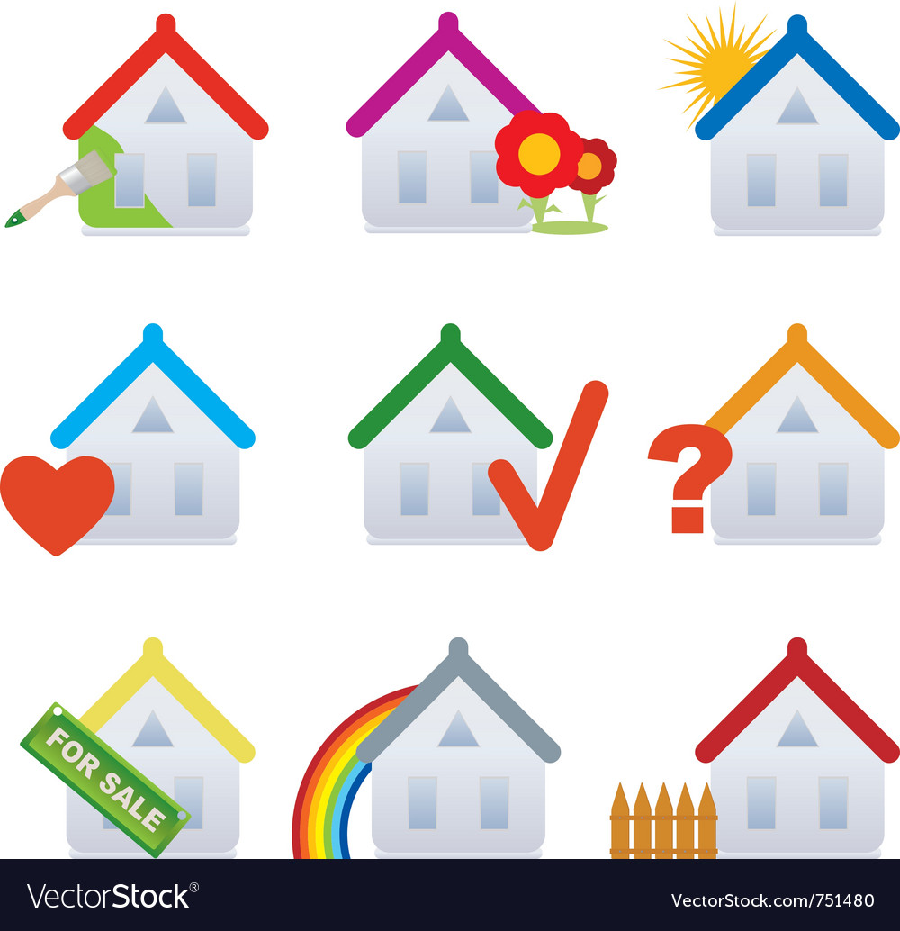 House set vector | Price: 3 Credit (USD $3)