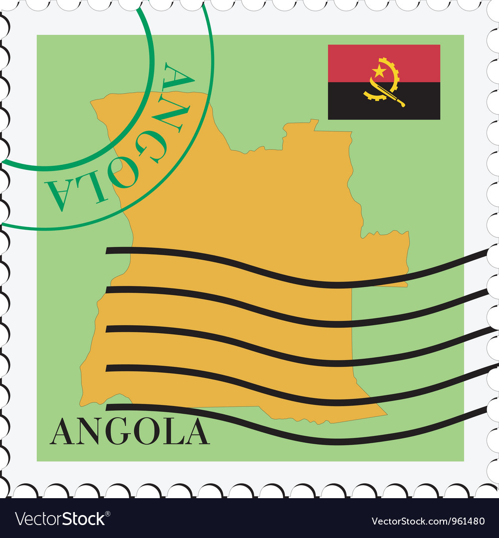 Mail to-from angola vector | Price: 1 Credit (USD $1)