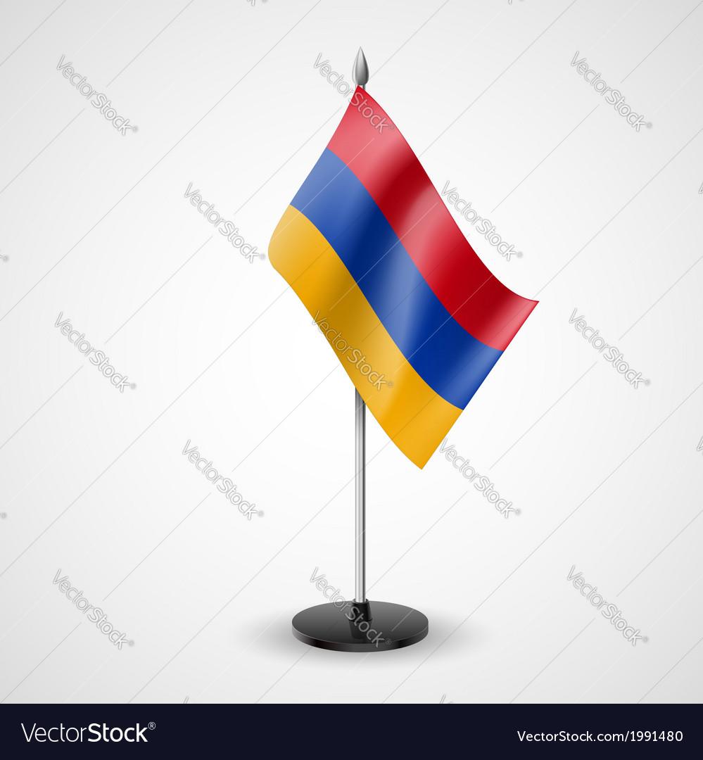 Table flag of armenia vector | Price: 1 Credit (USD $1)
