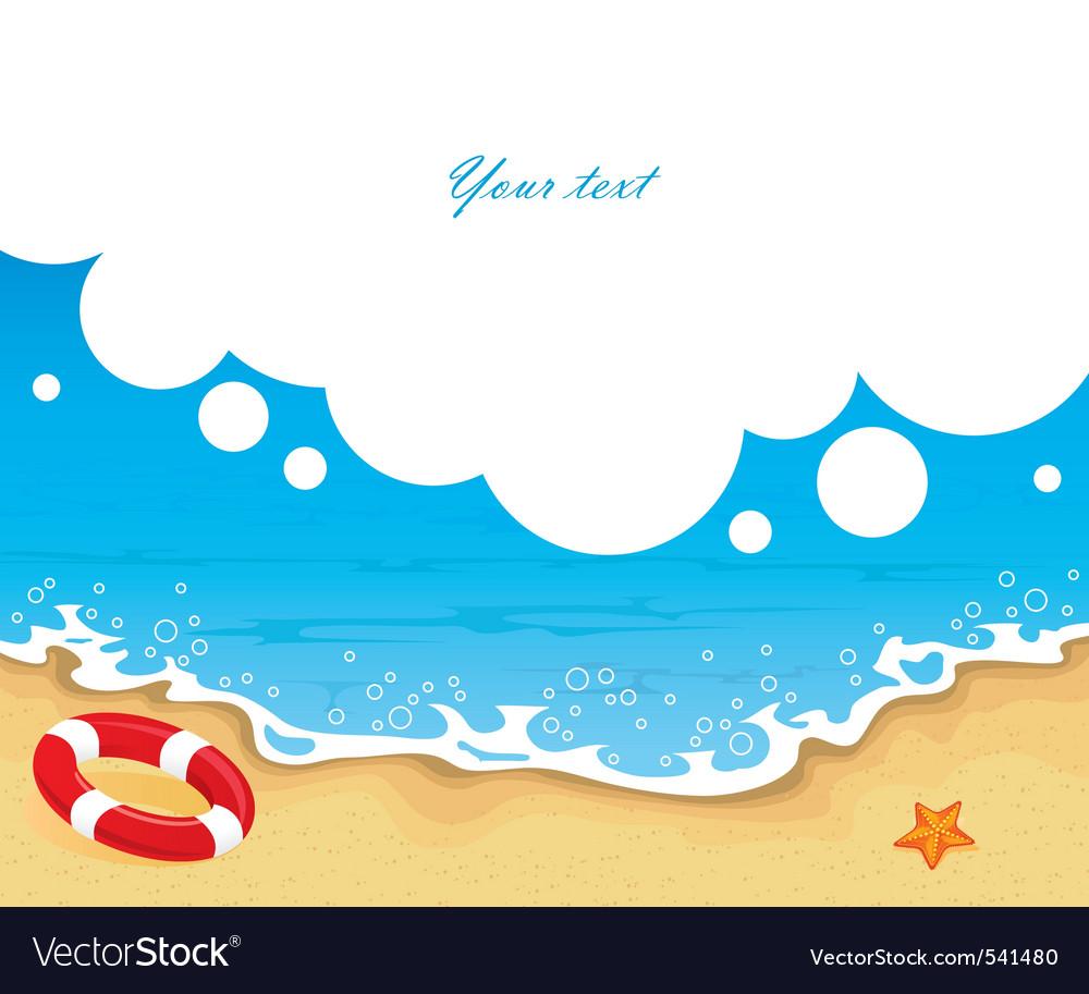 Tropic back sea bbl vector | Price: 1 Credit (USD $1)