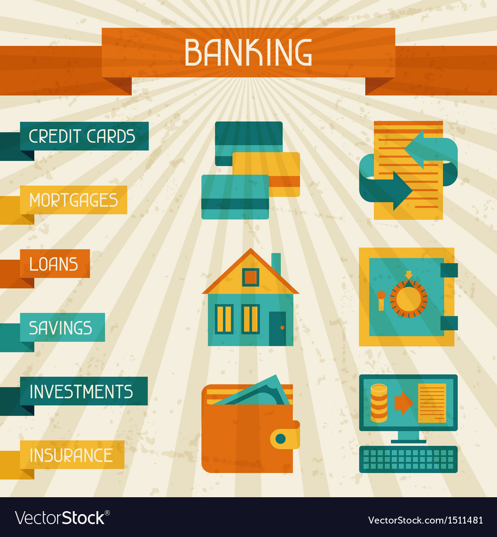 Conceptual banking and business background vector | Price: 1 Credit (USD $1)