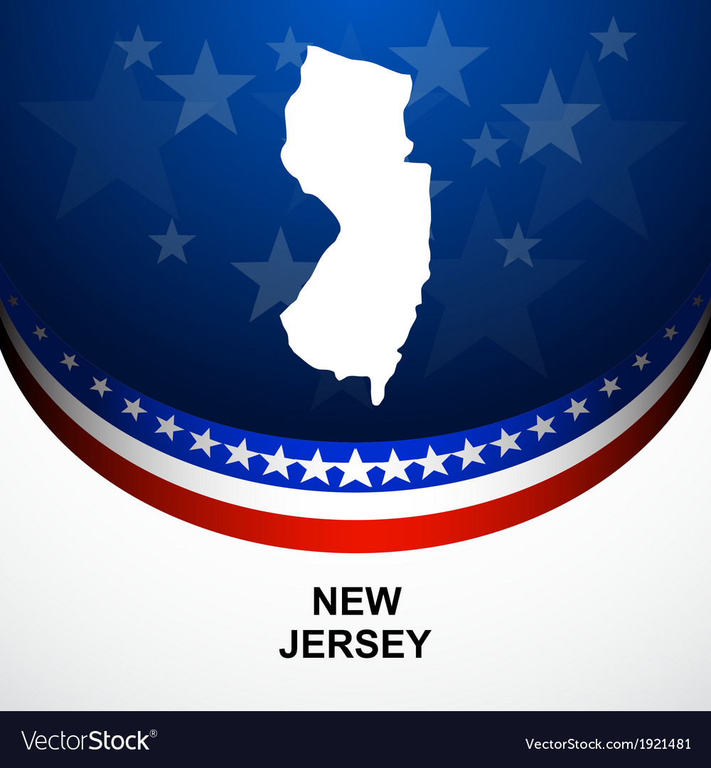 New jersey vector | Price: 1 Credit (USD $1)
