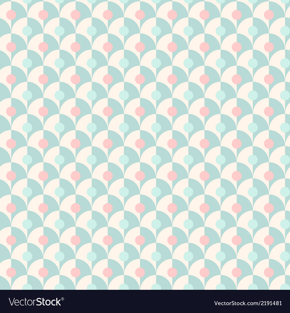 Seamless simple retro geometrical pattern of vector | Price: 1 Credit (USD $1)