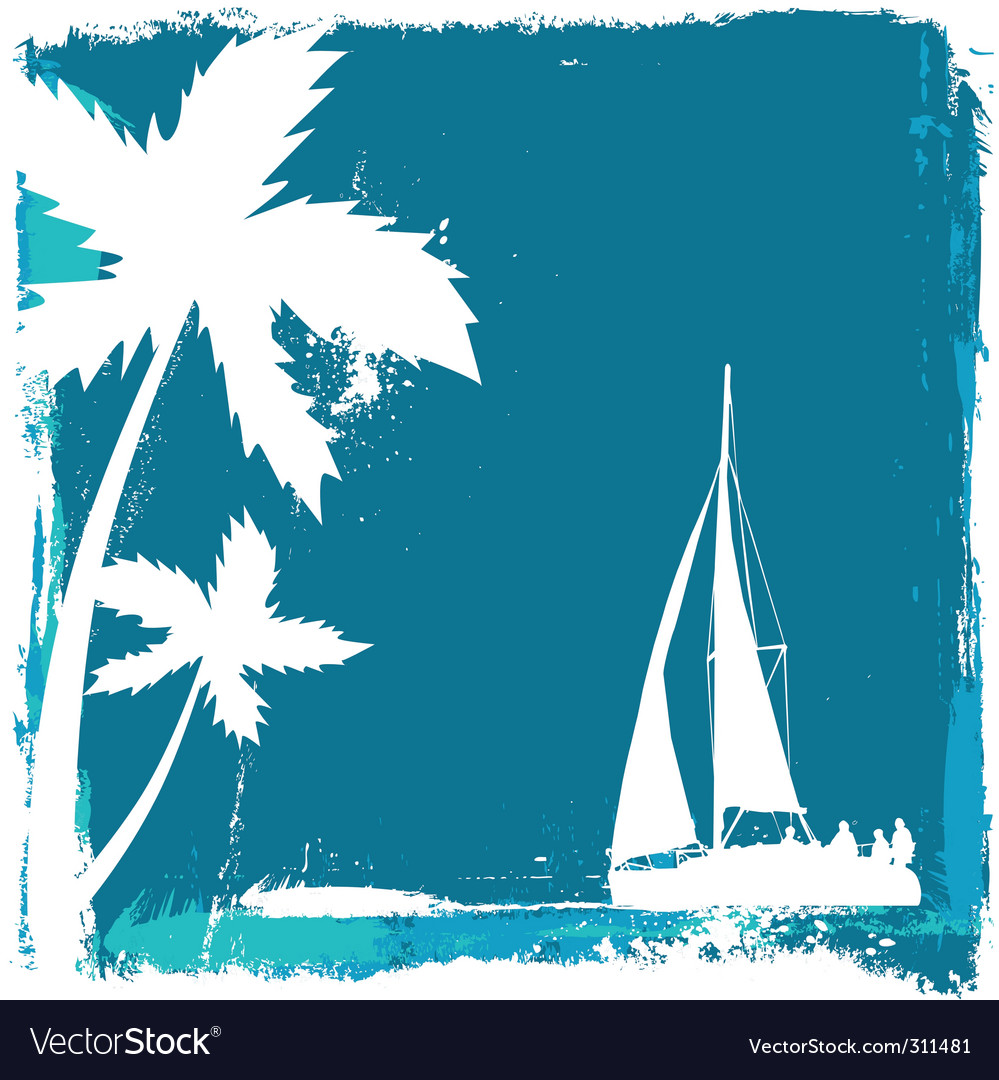 Tropical design vector | Price: 1 Credit (USD $1)