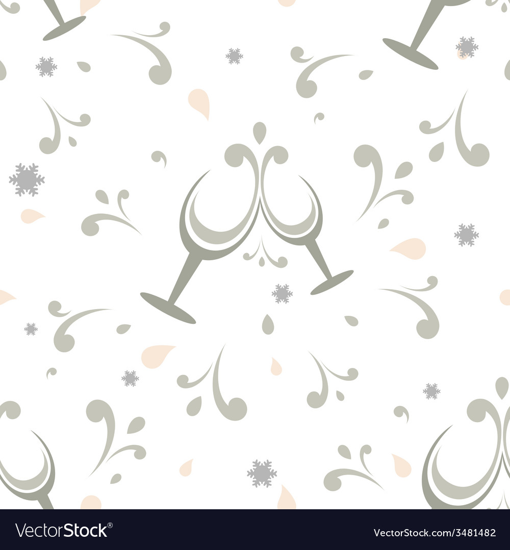Holiday seamless background vector | Price: 1 Credit (USD $1)