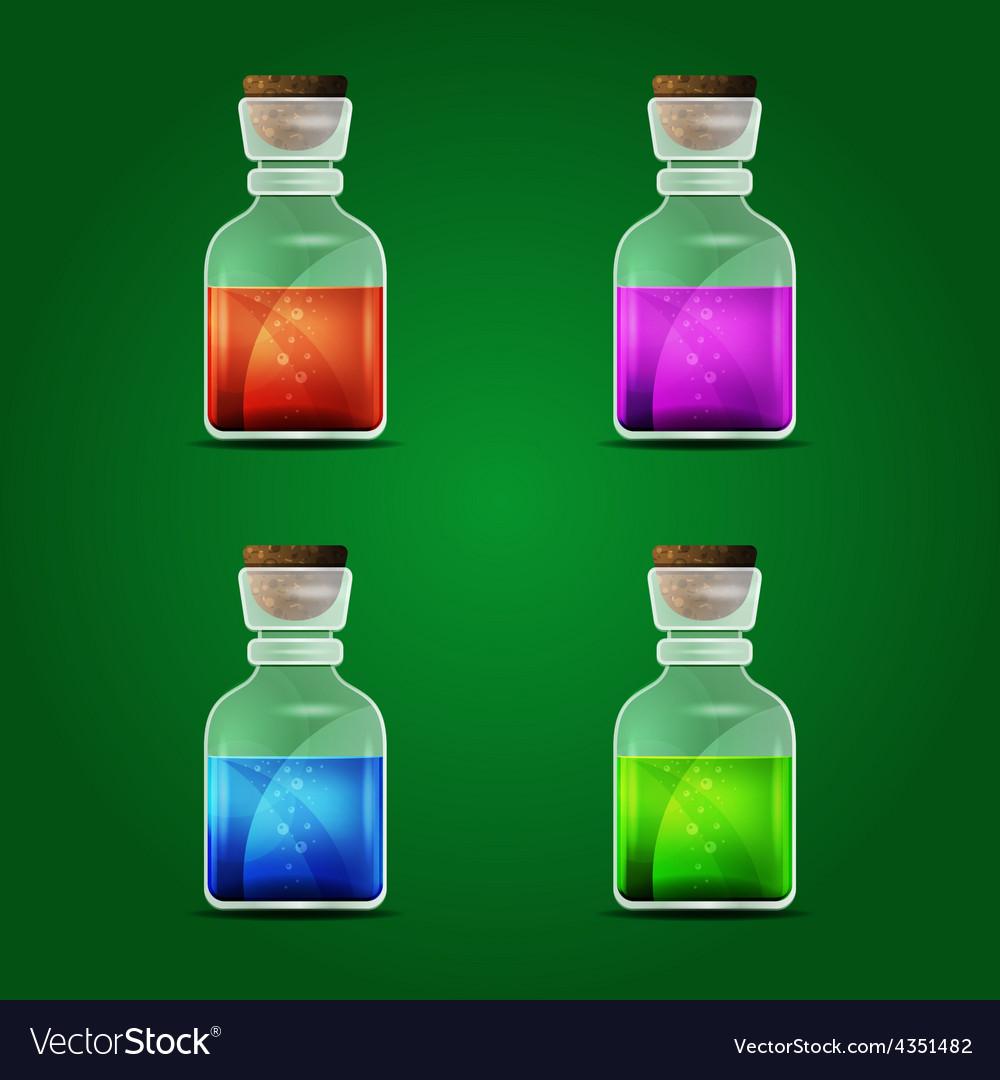 Magic potion vector | Price: 1 Credit (USD $1)