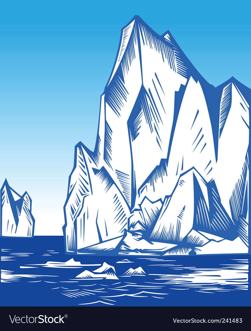 Iceberg vector | Price: 1 Credit (USD $1)