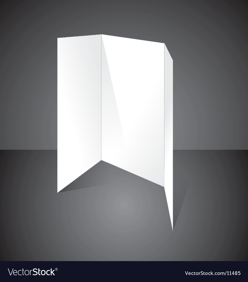 Blank flyer vector | Price: 1 Credit (USD $1)