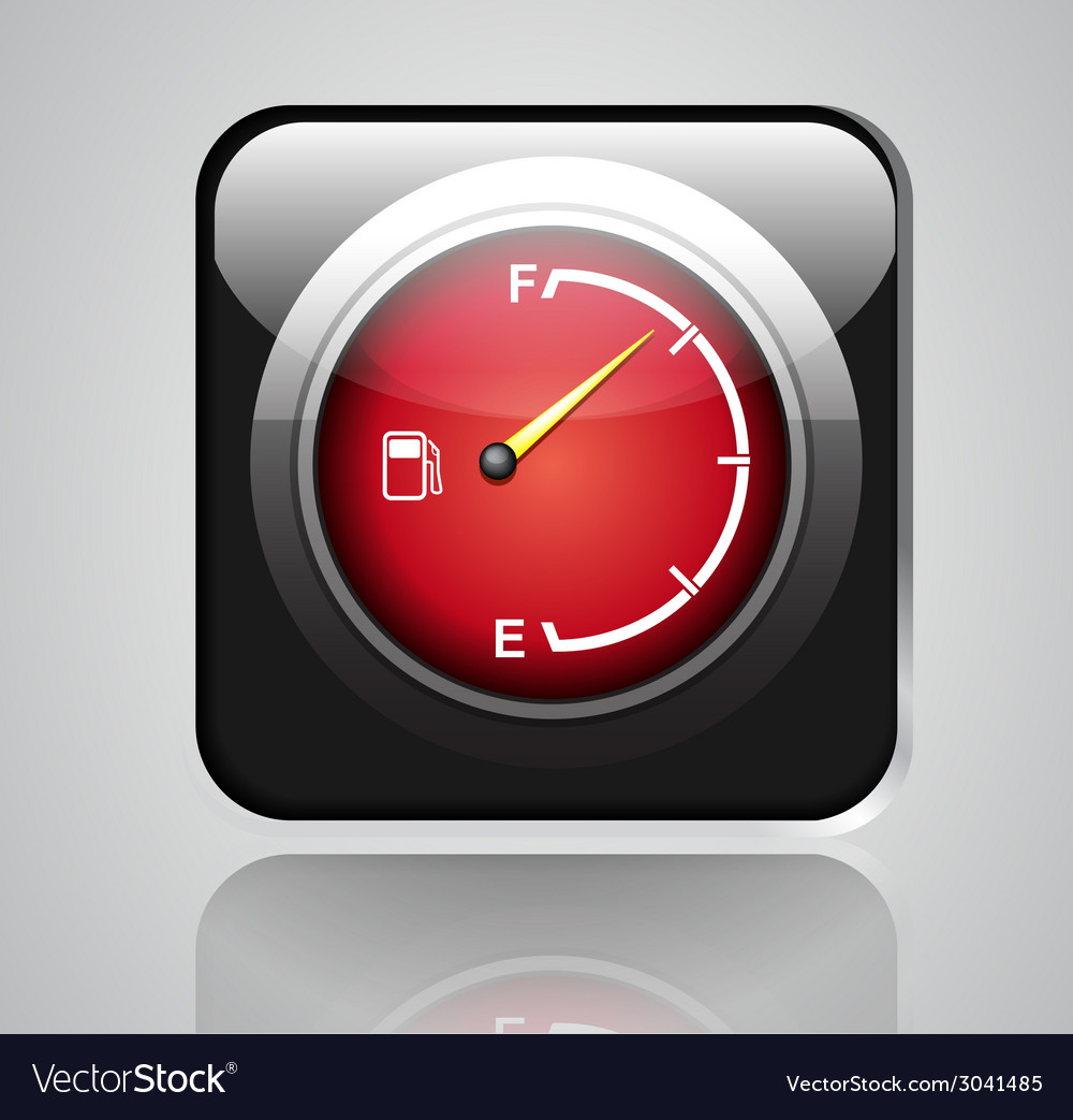 Gas gage vector | Price: 1 Credit (USD $1)