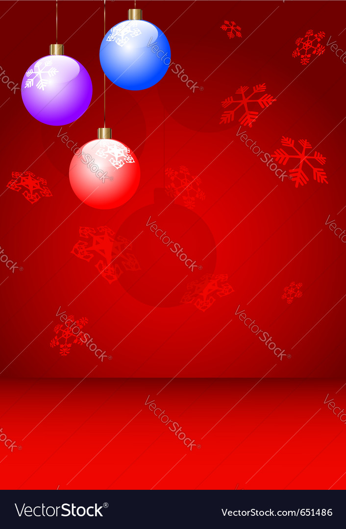 New year postcard xmas card vector | Price: 1 Credit (USD $1)