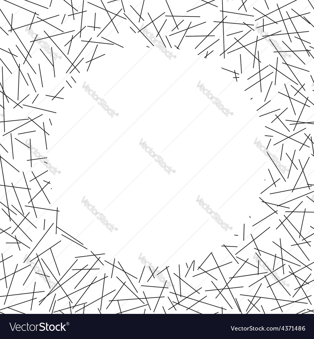 White circle lies on seamless pattern of random vector | Price: 1 Credit (USD $1)