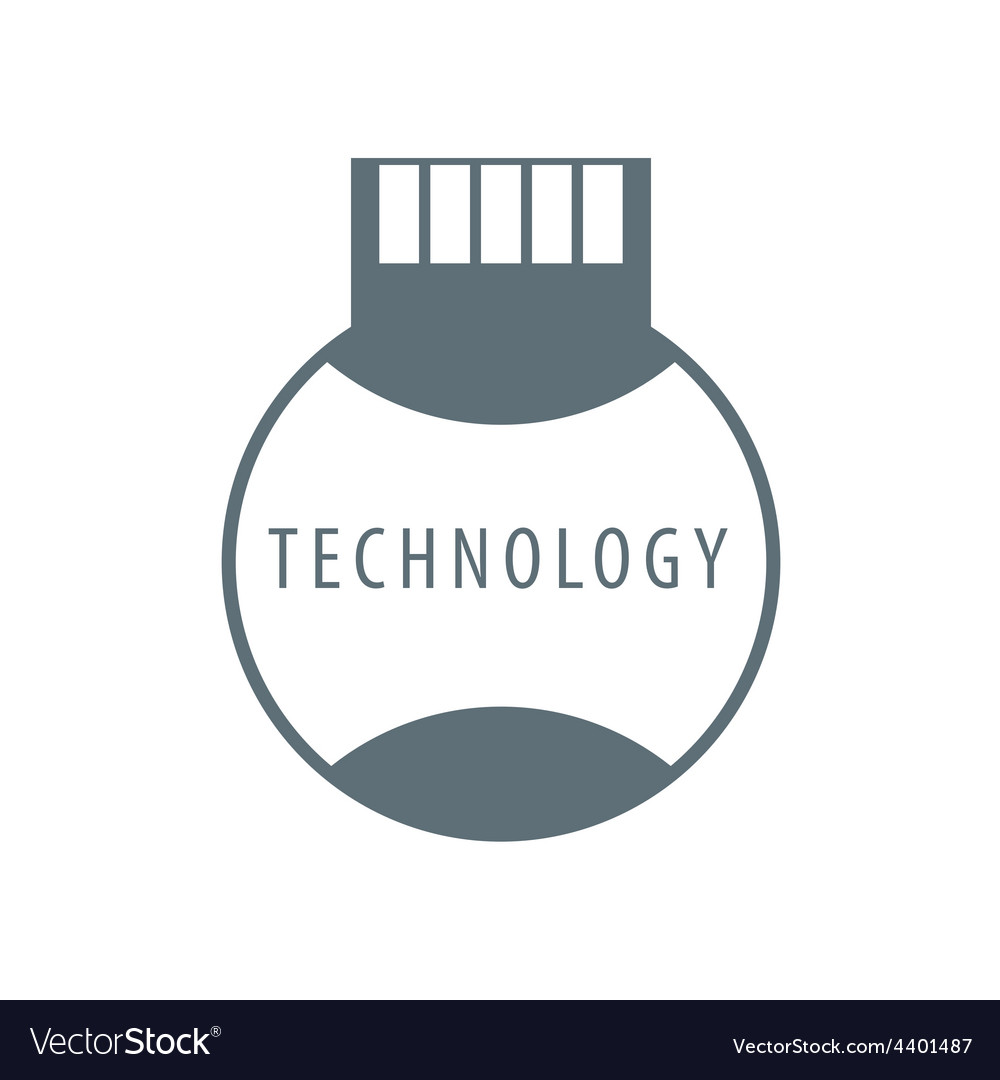 Logo sim card technology vector | Price: 1 Credit (USD $1)