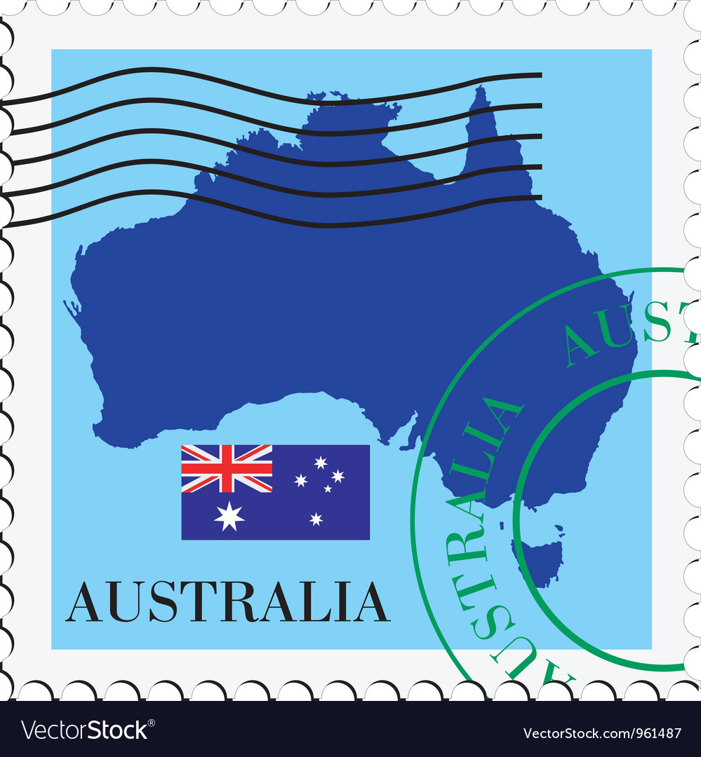 Mail to-from australia vector | Price: 1 Credit (USD $1)