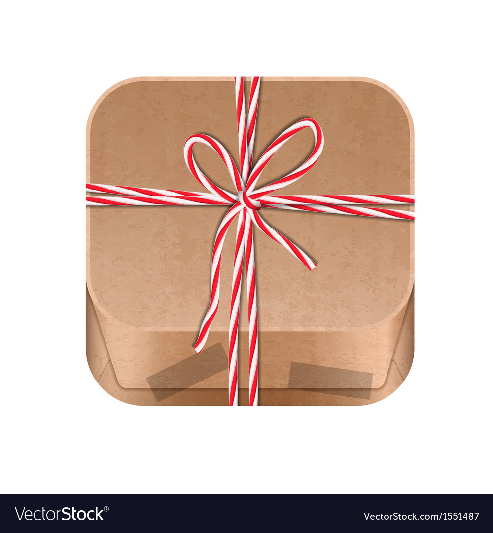 Paper package icon vector | Price: 1 Credit (USD $1)
