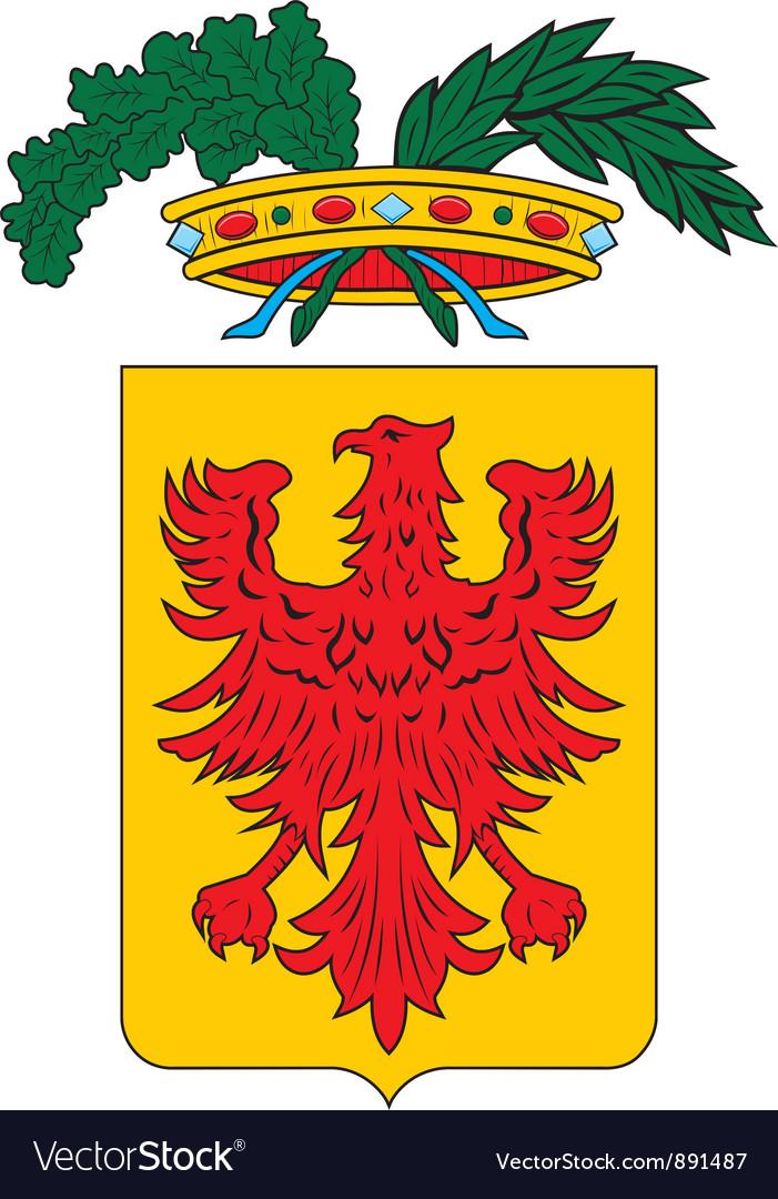 Ravenna province vector | Price: 1 Credit (USD $1)