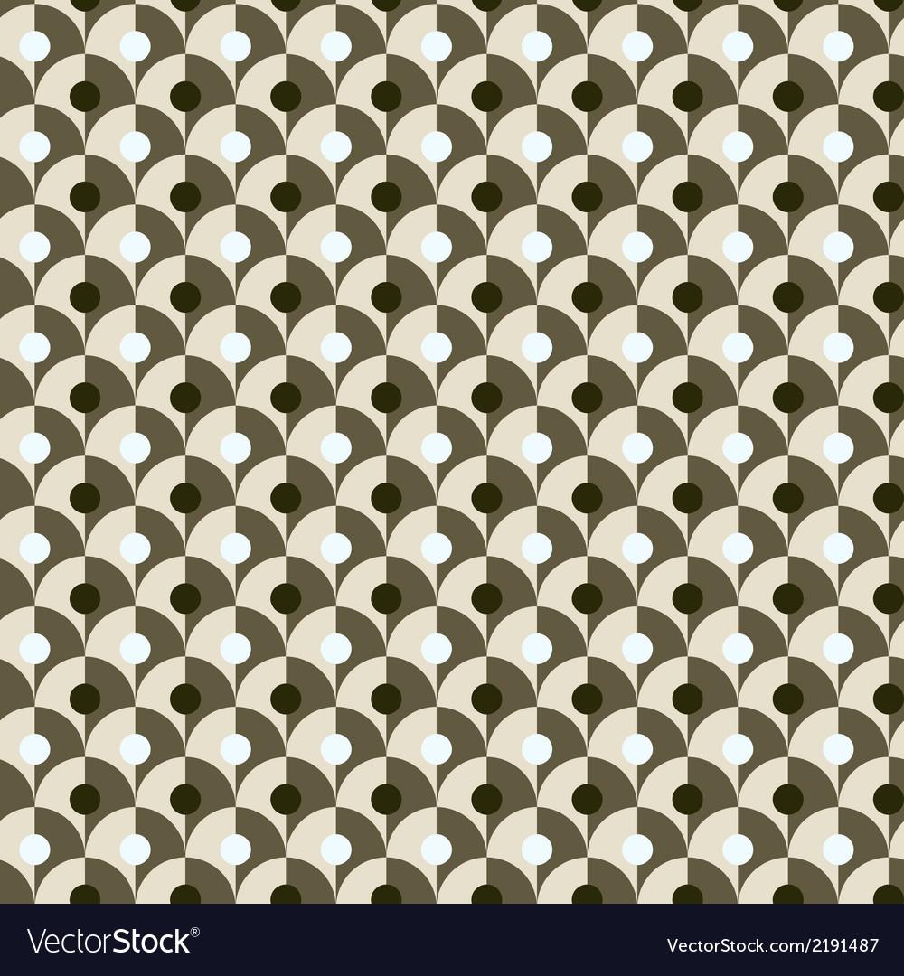 Seamless simple retro geometrical pattern of vector | Price: 1 Credit (USD $1)