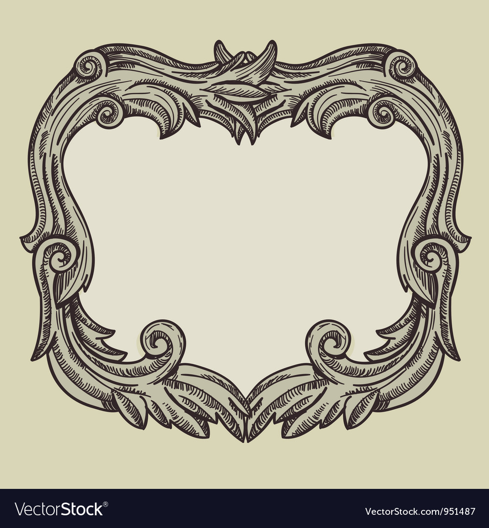 Vintage frame with copy space vector | Price: 1 Credit (USD $1)