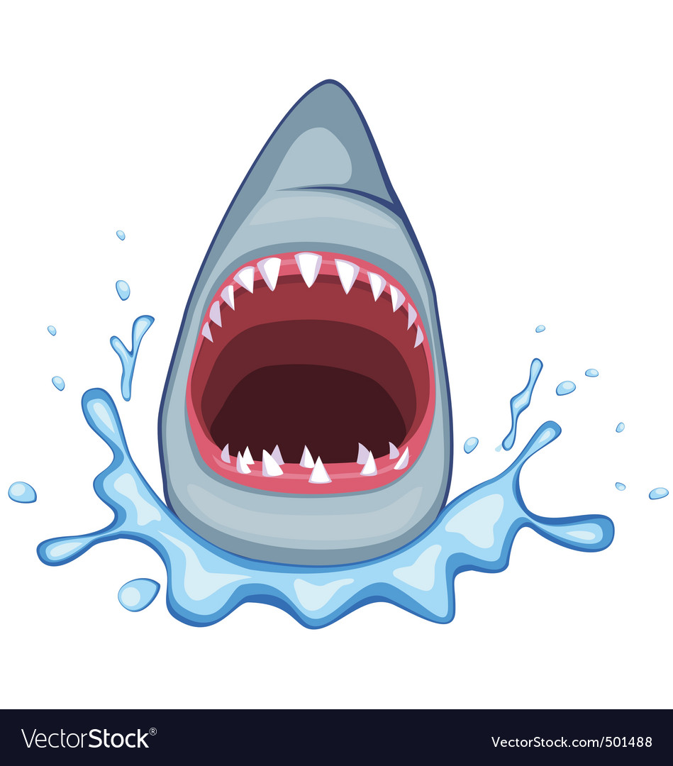 Shark mouth vector | Price: 1 Credit (USD $1)