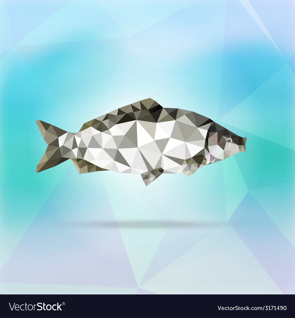 Abstract fish vector | Price: 1 Credit (USD $1)