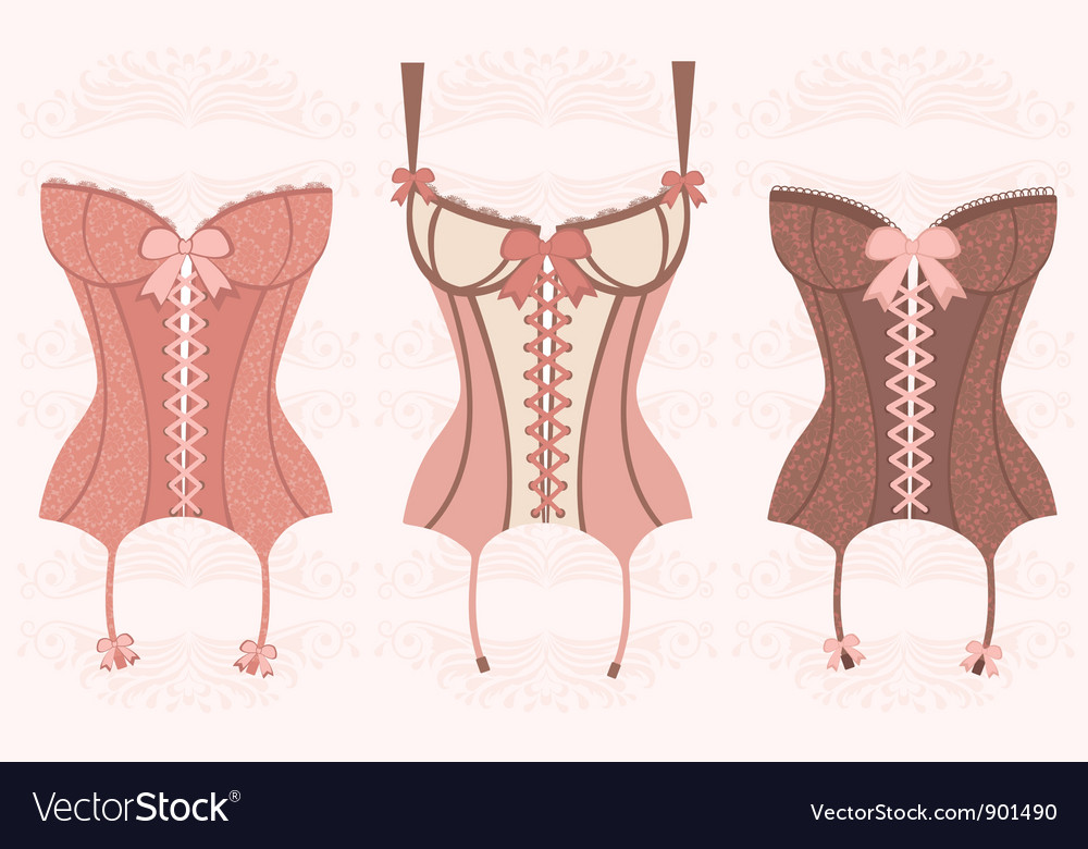 Corsets vector | Price: 1 Credit (USD $1)