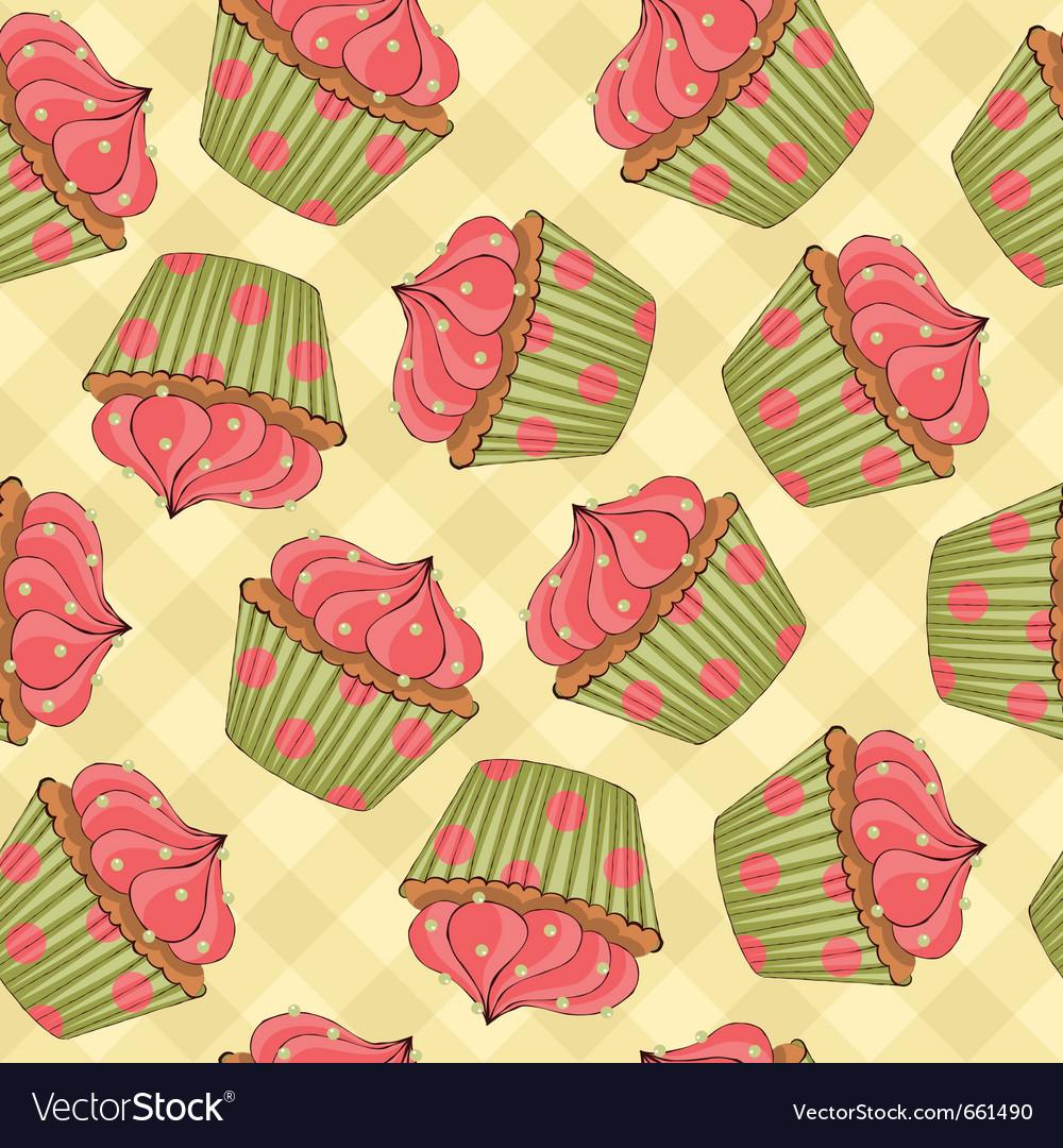Cupcakes vector | Price: 1 Credit (USD $1)