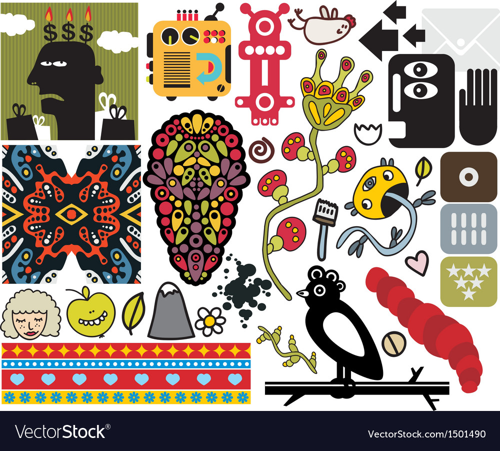 Mix of images vol48 vector | Price: 3 Credit (USD $3)