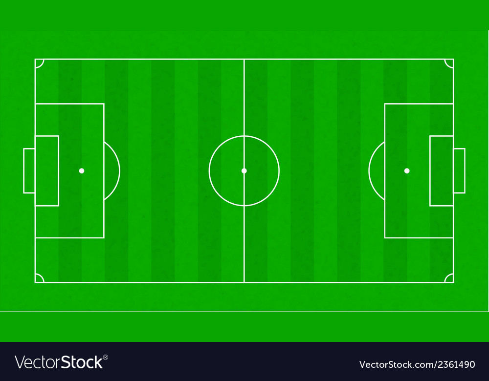 Textured grass soccer field football green field vector | Price: 1 Credit (USD $1)