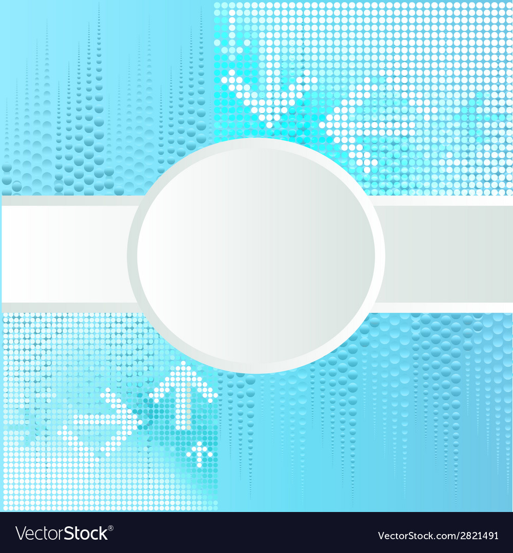 Background with circle for text vector | Price: 1 Credit (USD $1)