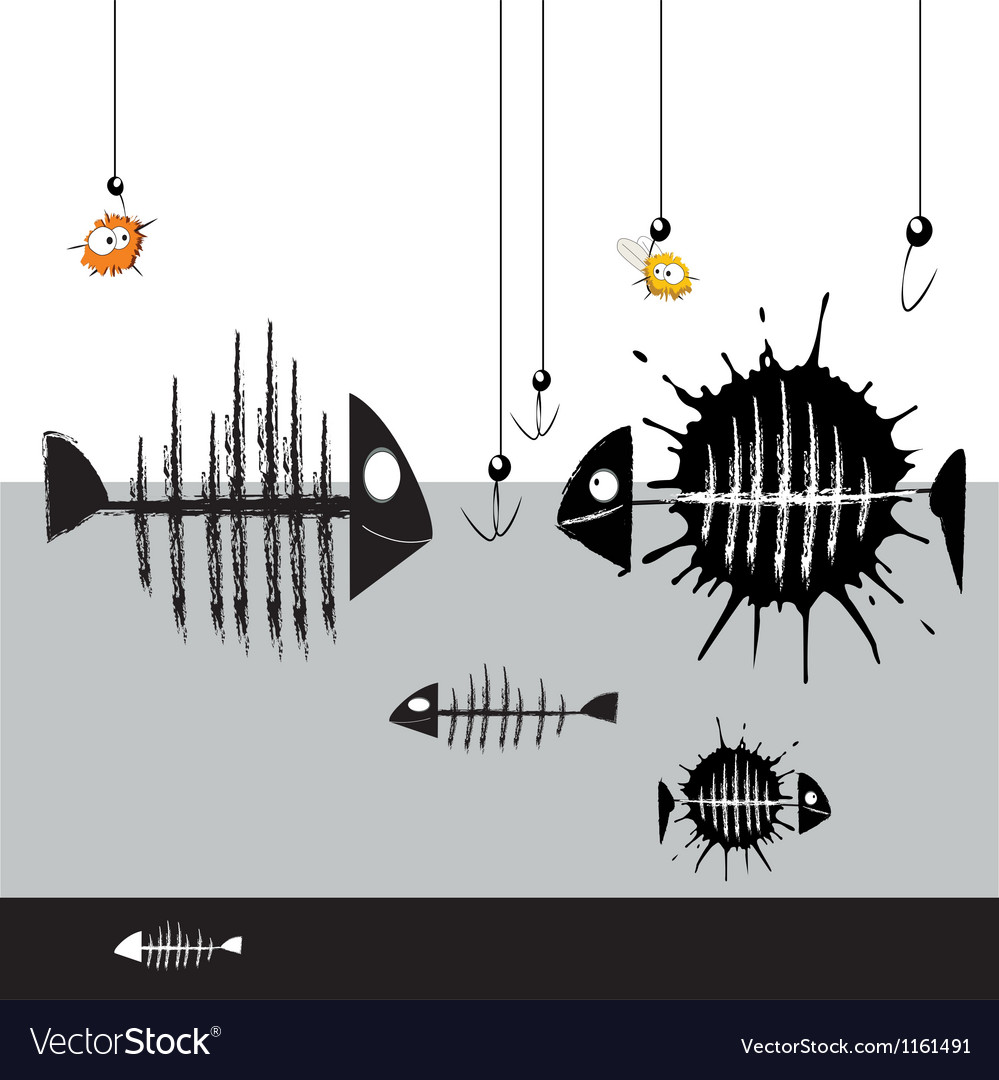 Fish smile vector | Price: 1 Credit (USD $1)