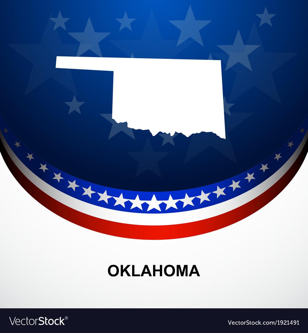 Oklahoma vector | Price: 1 Credit (USD $1)