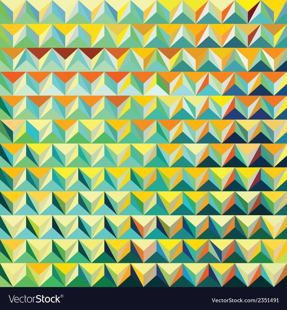 V 000182 modern triangular pattern vector | Price: 1 Credit (USD $1)