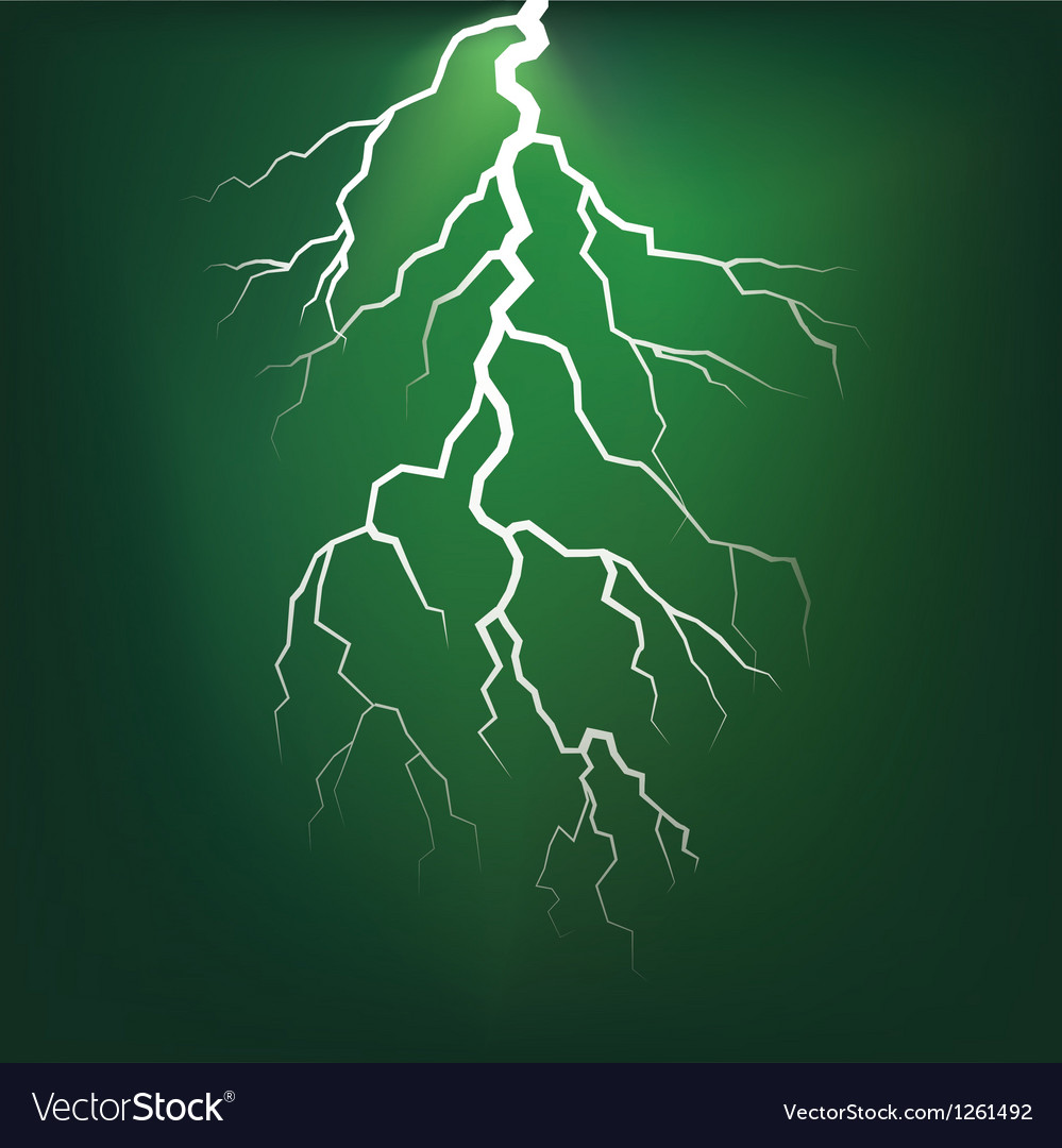 Lighting flash on the dark sky vector | Price: 1 Credit (USD $1)