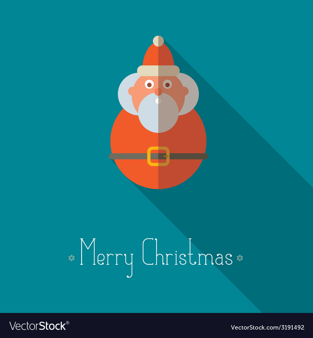 Merry christmas santa claus vector | Price: 1 Credit (USD $1)