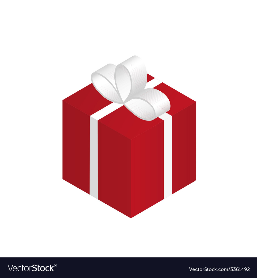 Red gift vector   Price: 1 Credit (USD $1)