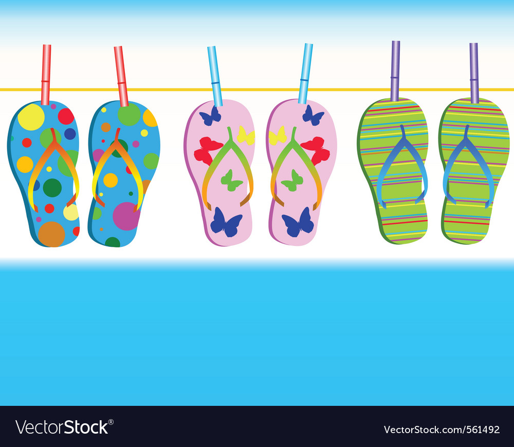 Rubber footwear vector | Price: 1 Credit (USD $1)