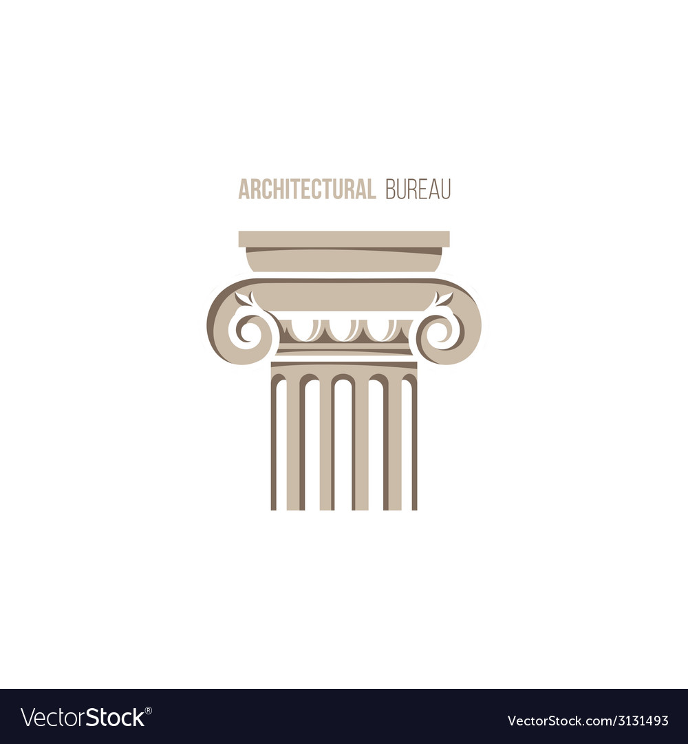 Architectural bureau logo template vector | Price: 1 Credit (USD $1)