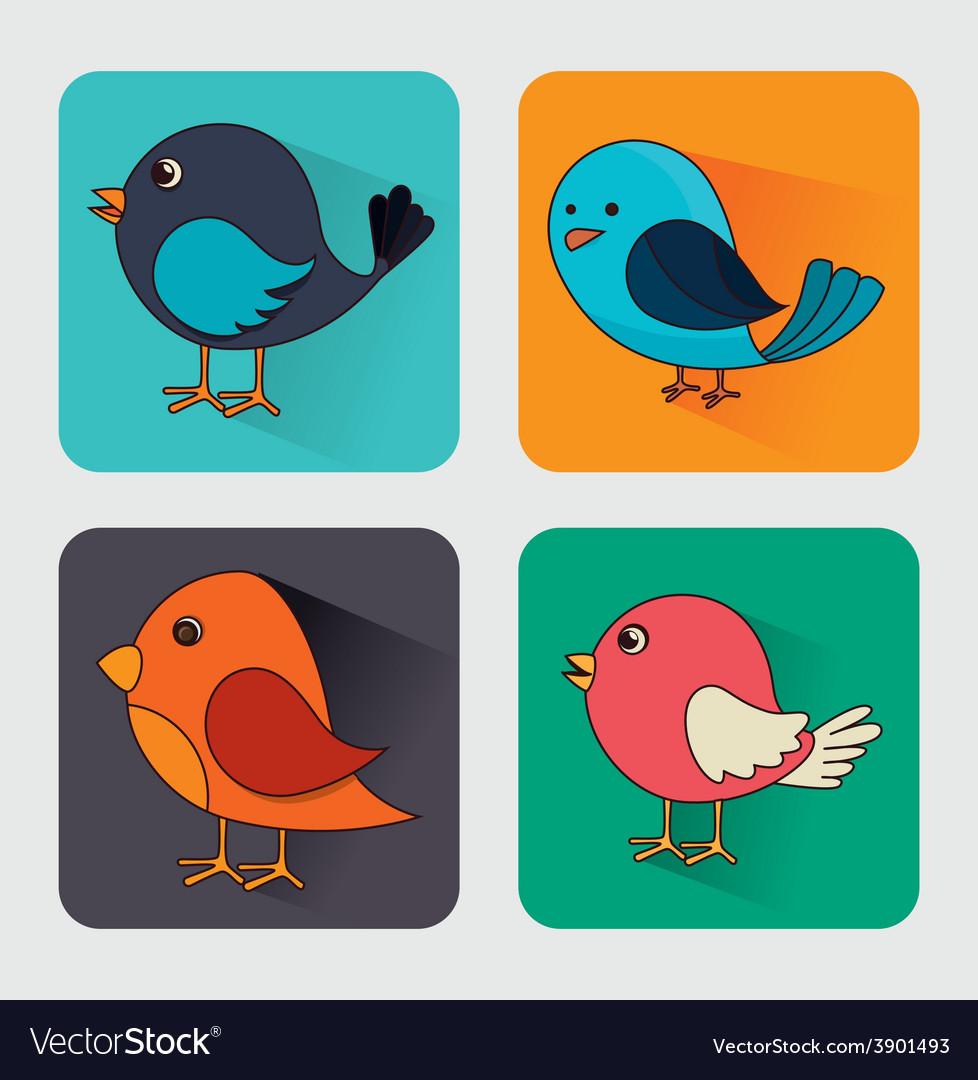 Bird design vector | Price: 1 Credit (USD $1)