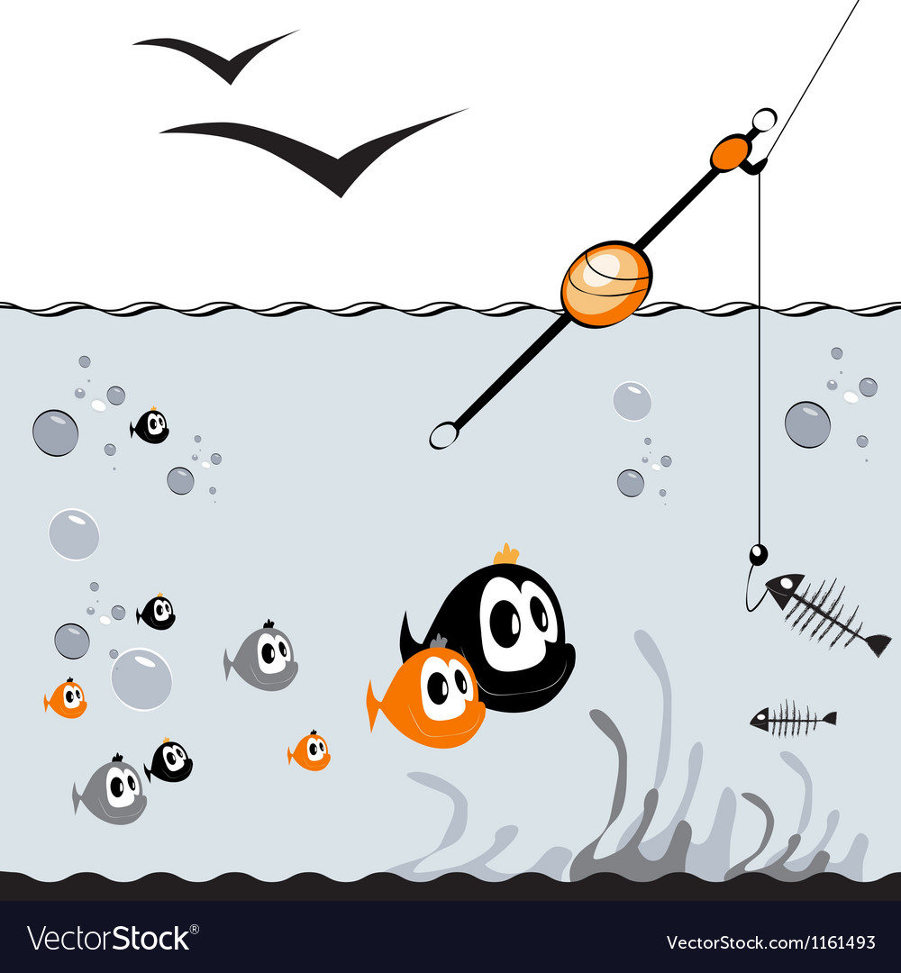 Fishing vector | Price: 1 Credit (USD $1)