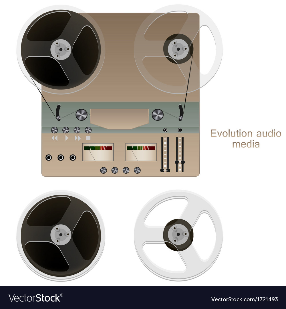 Tape player vector | Price: 1 Credit (USD $1)