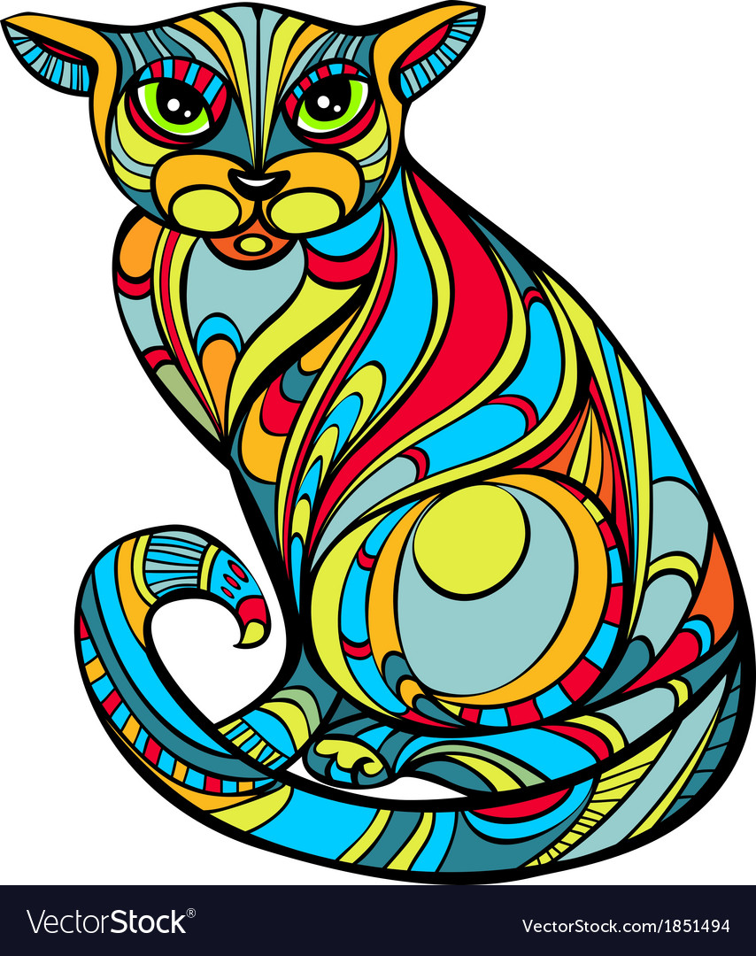 Improbable cat vector | Price: 1 Credit (USD $1)