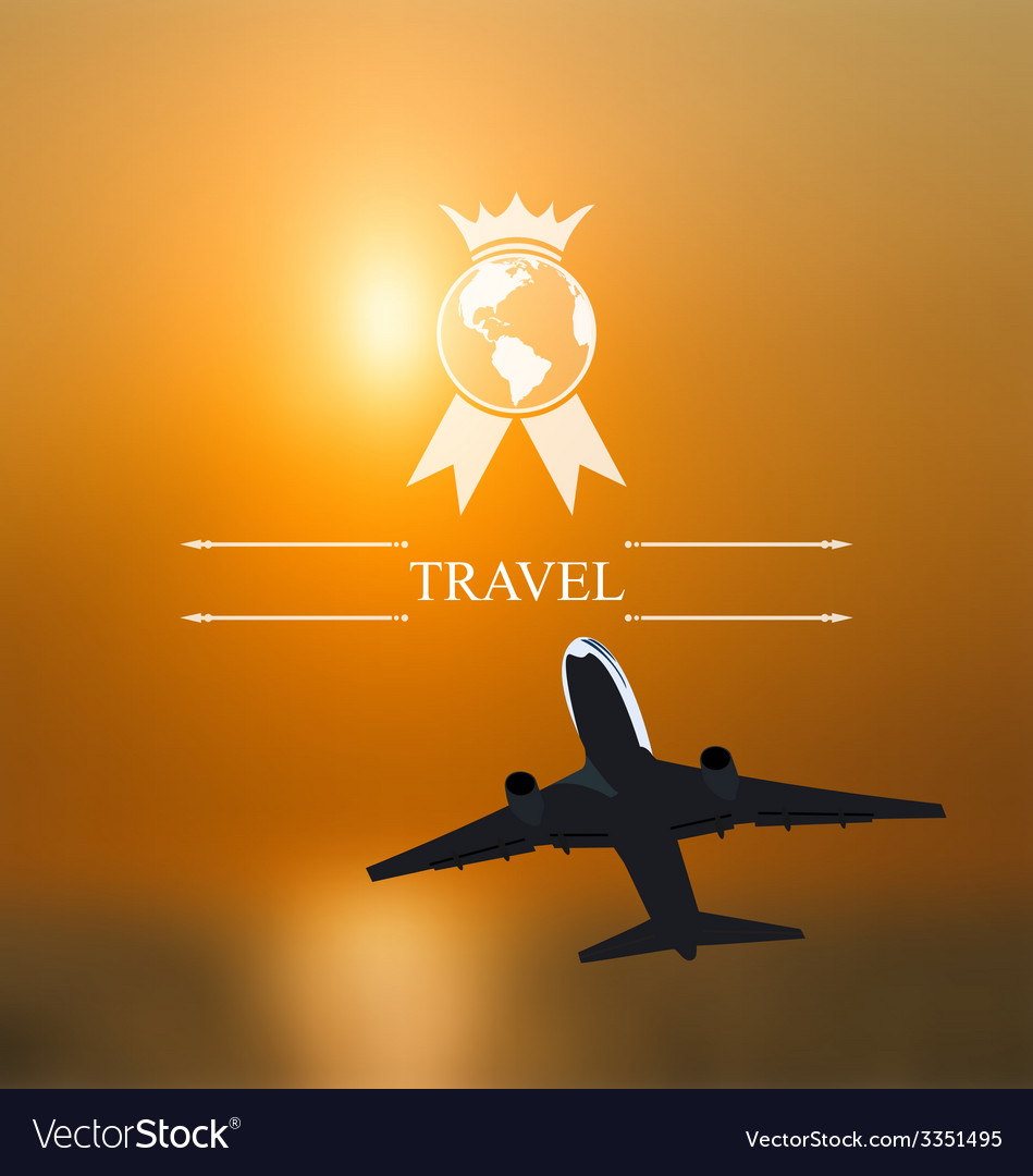 Design of tickets for worldwide travel corporate vector   Price: 1 Credit (USD $1)